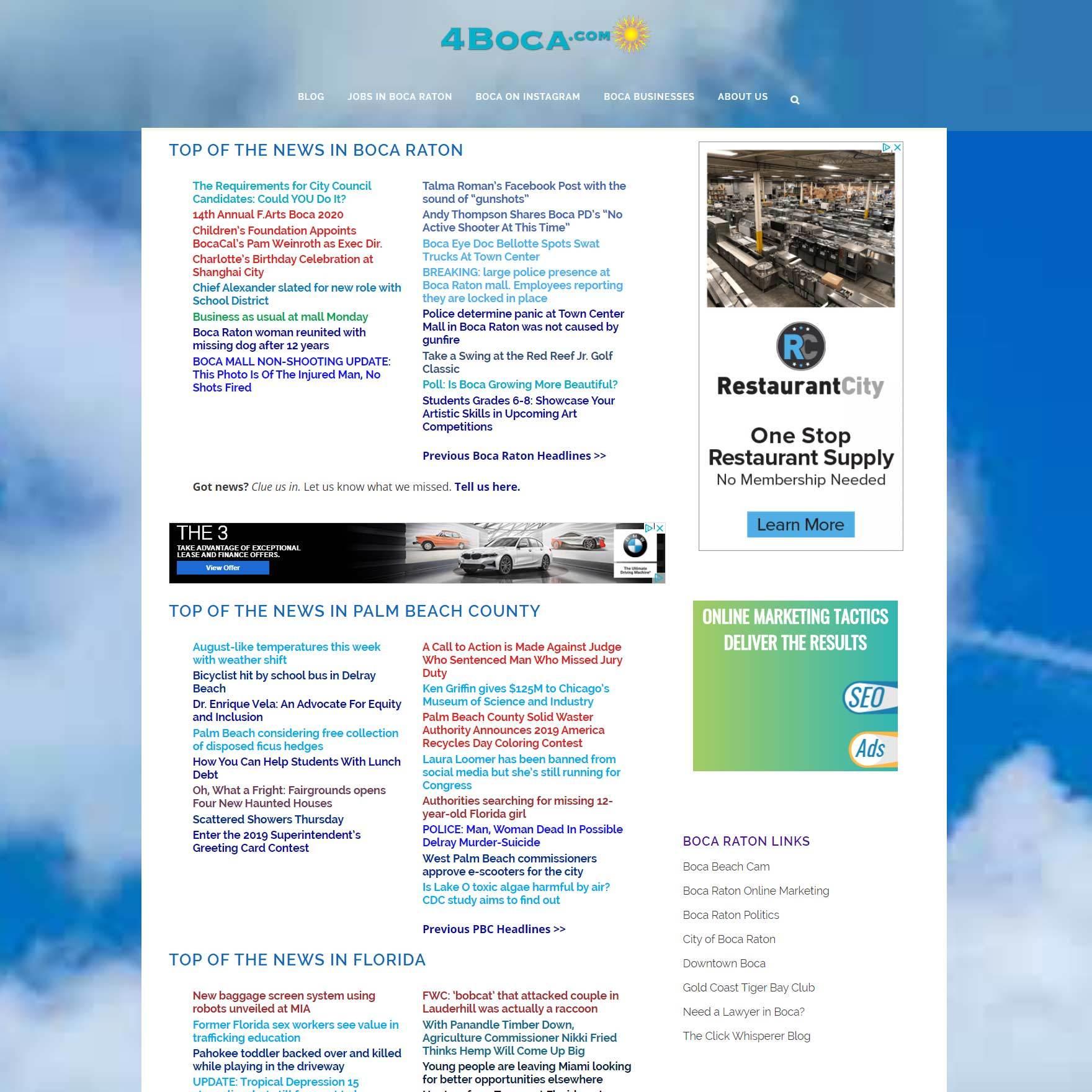 News Aggregation Website