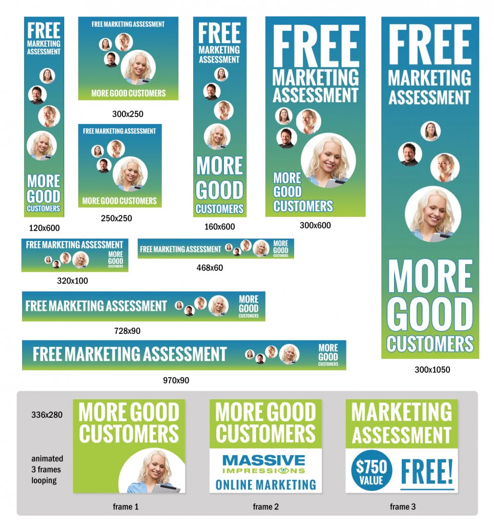 Banner Advertising Examples & Sizes