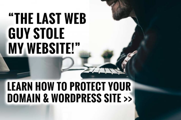My Last Web Guy Stole My Website